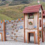 Spielplatz aus Holz: Spielanlage Madritschenbahn - Kletterspielplatz aus Holz - Spielplatzhersteller Naturholz Kästner