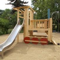 Holz-Lok Spielsplatz - Spielplatzhersteller Naturholz Kästner