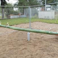 Wippe aus Holz Kindergarten - Spielplatzhersteller Naturholz Kästner