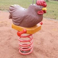 Spielgerät: Federwippe für Kleinkinder - Spielplatzhersteller Naturholz Kästner