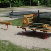 Spielgerät Traktor - Spielplatzhersteller Naturholz Kästner