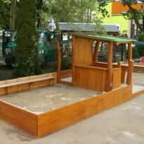 Sandspielplatz: Spielplatz für Kleinkinder - Spielplatzhersteller Naturholz Kästner