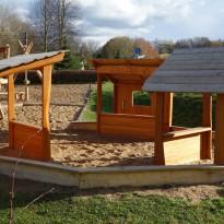 Sandspielplatz, Spielplatz für Kleinkinder - Spielplatzhersteller Naturholz Kästner