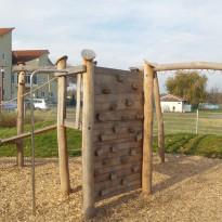 Kletterparcour, Kletterwand: Spielanlage zum Klettern - Spielplatzhersteller Naturholz Kästner
