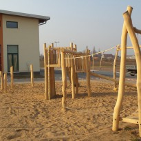 Kletterparcour: Spielanlage zum Klettern - Spielplatzhersteller Naturholz Kästner