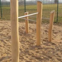 Spielanlage zum Klettern - Spielplatzhersteller Naturholz Kästner