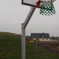 Basketballkorb Spielanlage Basketball - Spielplatzhersteller Naturholz Kästner