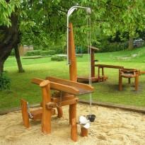 Sandspielplatz - Spielplatzhersteller Naturholz Kästner