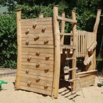 Sandbaustelle, Sandspielplatz, Spielanlage zum Klettern - Spielplatzhersteller Naturholz Kästner
