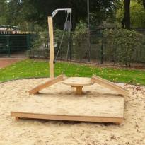 Sandspielplatz, Spielanlage für Kleinkinder - Spielplatzhersteller Naturholz Kästner