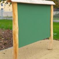 Malwand: Tafel zum Malen für Kinder - Spielplatzhersteller Naturholz Kästner