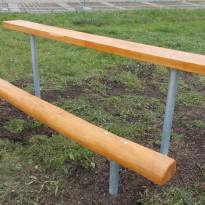 Herstellung Sitzbank - Spielplatzhersteller Naturholz Kästner